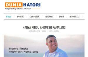 dunia hatori - website tutorial dan informasi - chaka solution