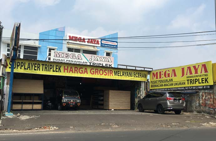 mega jaya store - supplier triplek gulung - supplier triplek bending - supplier plywood