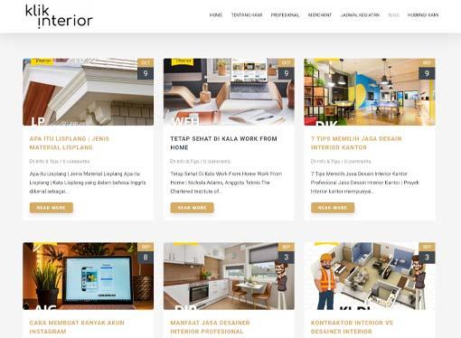 klik interior - klikinterior - referensi pelaku bisnis interior - kontraktor interior