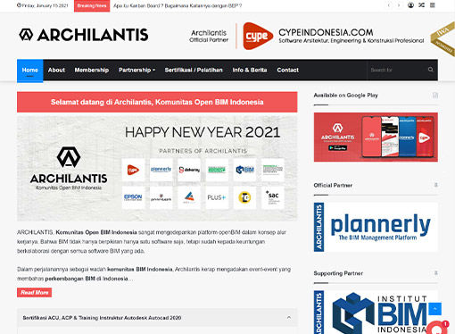 archilantis - komunitas open bim indonesia archicad revit autodesk graphisoft plannerly cype indonesia- chaka solution