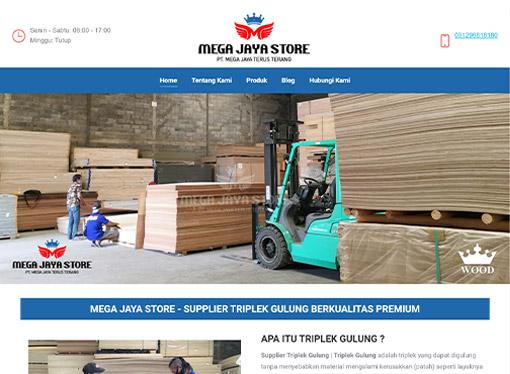 mega jaya store - supplier triplek gulung dan triplek bending - chaka solution