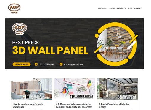 agp wood - 3d wood wall panel - chaka solution